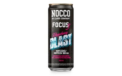 Nocco FOCUS Raspberry Blast 0,33l