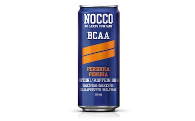 Nocco BCAA persikka 0,33l
