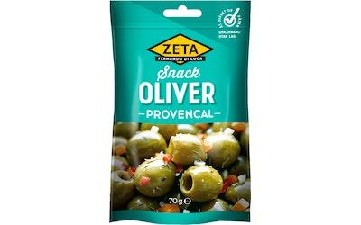 Zeta snacksoliivit provencal 70g