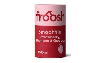 Froosh Shorty Mansikka, Banaani & Guava smoothie 150ml
