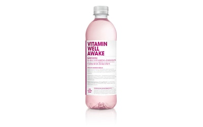 Vitamin Well Awake maustettu hiilihapoton juoma 0,5l