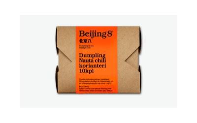 Beijing8 Dumpling nauta-korianteri 10kpl/180g pakaste
