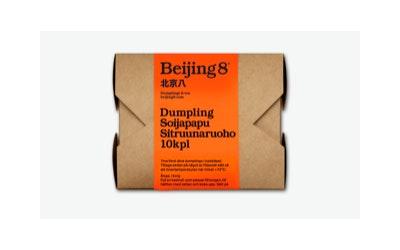 Beijing8 Dumpling soijapapu-sitruunaruoho 10kpl/180g pakaste