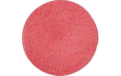 Hemtex 24h pyöreä pöytätabletti Nilla glitter punainen 38 cm