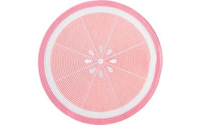 Hemtex 24h pyöreä pöytätabletti Fruits pinkki