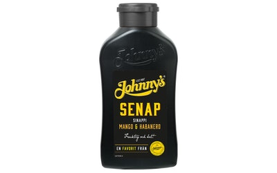 Johnny's sinappi 500g mango & habanero