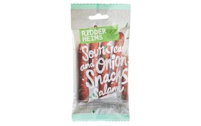 Ridderheims snacks salami sourcream&onion 70g