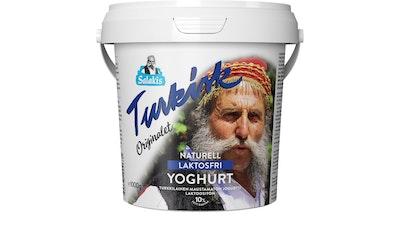 Salakis turkkilainen maustamaton jogurtti 1kg 10% laktoositon