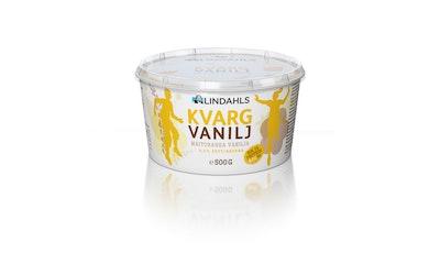 Lindahls maitorahka 500g 0,2% vanilja