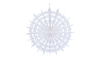 Paperilumihiutale 20 cm valkoinen 2 kpl