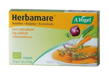 Herbamare kasviliemikuutio 8x9,5g luomu ei lisättyä suolaa