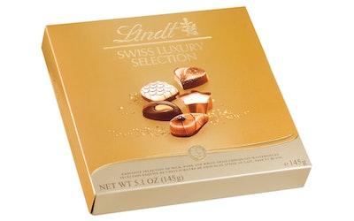 Lindt Swiss Luxury Selection suklaakonvehtivalikoima 145g