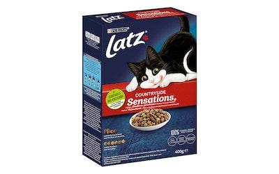 Latz 400g Countryside Sensations Nautaa, Kanaa ja makuna Kasviksia kissanruoka - kuva
