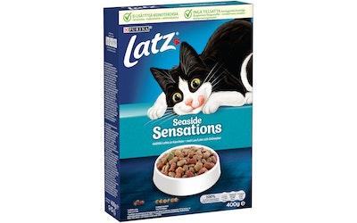 Latz Seaside Sensations Lohta, Lyyraturskaa ja lisättyjä Kasviksia 400g kissanruoka