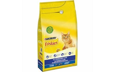Friskies Sterile Cats Lohta ja lisättyjä Kasviksia 1,5kg kissanruoka