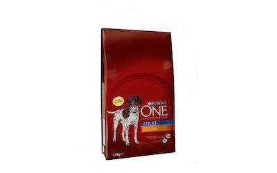Purina ONE Adult Runsaasti Kanaa, sisältää Riisiä 3kg koiranruoka