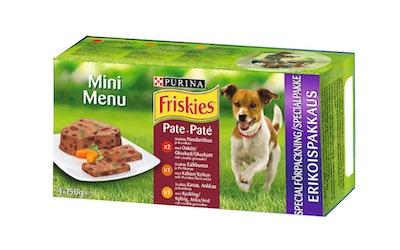 Friskies Mini Menu Patee lajitelma 4x150g koiranruoka