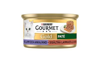 Gourmet Gold Lammasta ja Ankkaa Patee 85g kissanruoka