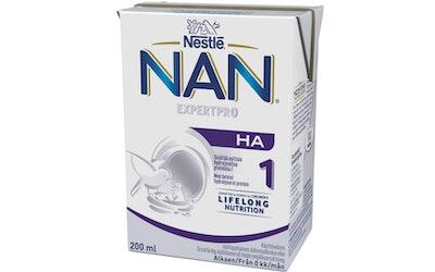 Nestlé NAN H.A.1 Maitopohjainen äidinmaidonkorvike 200ml