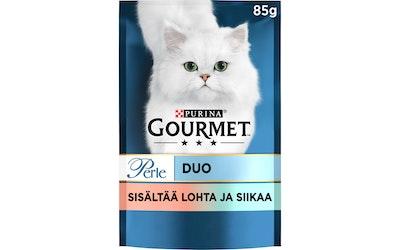 Gourmet Perle Lohta & Valkoista kalaa Seaside Duo 85g kissanruoka