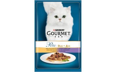 Gourmet Perle Kalkkunaa & Lammasta Delicate Meats Duo 85g kissanruoka