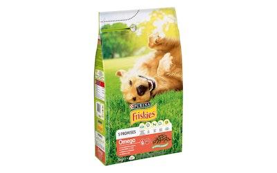 Friskies Omega koiran kuivaruoka 3kg nauta-kala
