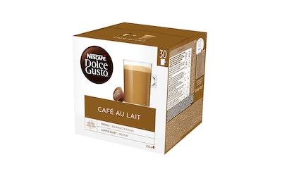 Nescafe Dolce Gusto 30kaps/300g Cafe au Lait maitokahvikapseli
