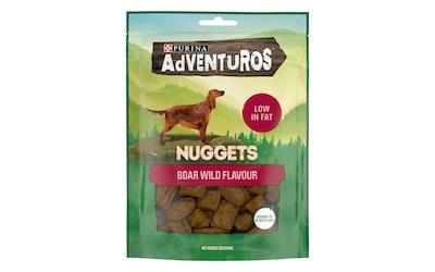 AdVENTuROS 90g Nuggets Villisian makuinen koiranherkku