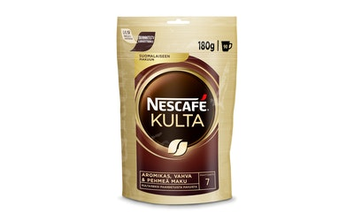 Nescafe Kulta pikakahvi 180g pussi