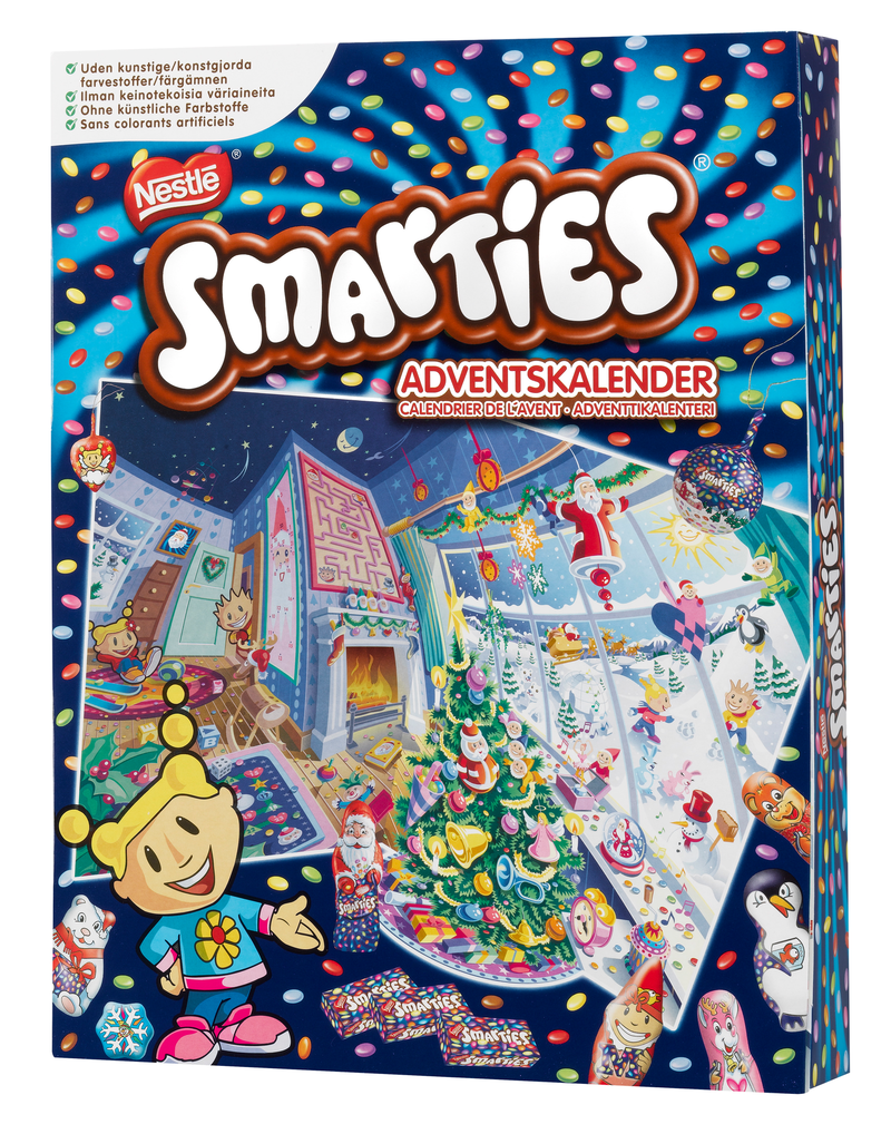 smarties joulukalenteri 2018 Smarties joulukalenteri 372,6g – K Ruoka smarties joulukalenteri 2018