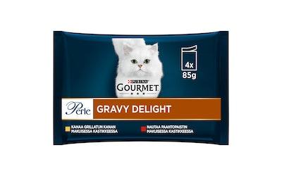 Gourmet Perle Gravy Delight lajitelma 4x85g