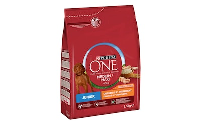 Purina One Junior 2,5kg kana riisi