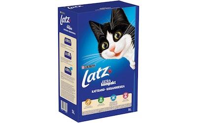 Latz Ultra Kompakt kissanhiekka 5L