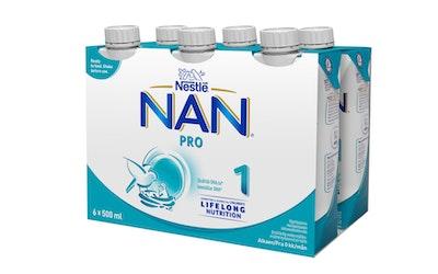 Nestle Nan Pro1 äidinmaidonkorvike 6x500ml