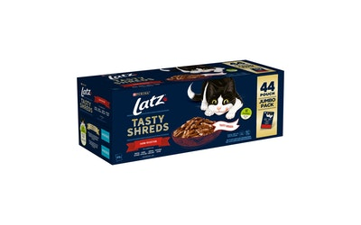Latz Tasty Shreds Farm Selection 44x80g