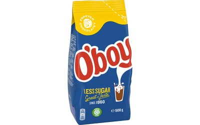 O'boy kaakaojuomajauhe 500g Less Sugar