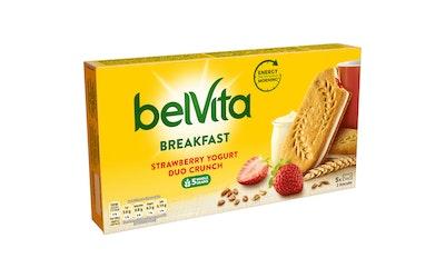 LU Belvita välipalakeksi 253g marja-jogurtti