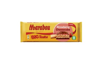 Marabou strawberry cheesecake 300g