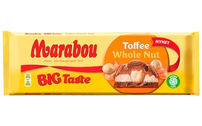 Marabou Toffee Whole Nut 300g