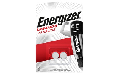 Energizer LR44 (A76) 2 kpl alkaliparisto