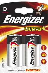 Energizer paristo Ultra+ LR20 D 2kpl
