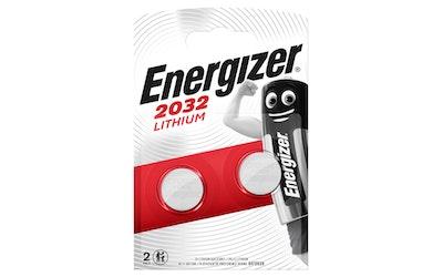 Energizer CR2032 2 kpl lithiumparisto