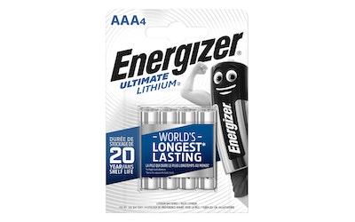 Energizer Ultimate Lithium AAA LR03 4kpl