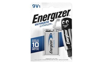 Energizer Ultimate Lithium 6LR61 9V 1kpl