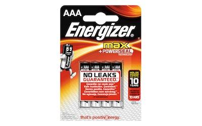 Energizer Max AAA BP4 paristo