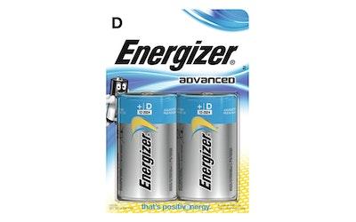 Energizer Advanced D 2 kpl paristo