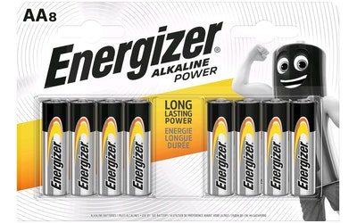Energizer Alkaline Power AA-paristo 8kpl