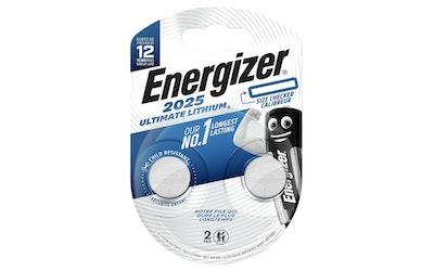 Energizer Ultimate CR2025 2 kpl lithiumparisto