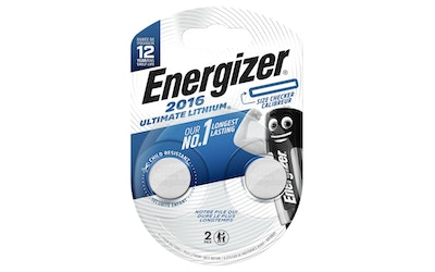 Energizer Ultimate CR2016 2 kpl lithiumparisto
