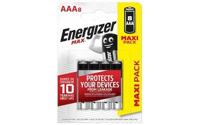 Energizer Max AAA 8 kpl alkaparisto